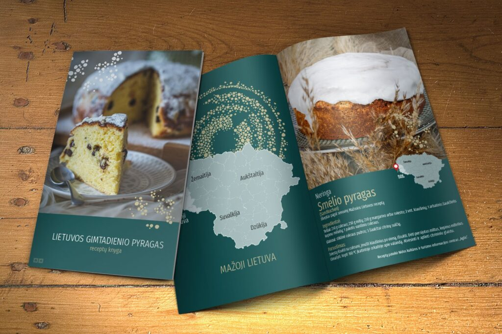 For Lithuanian birthday - cake recipes from all over Lithuania